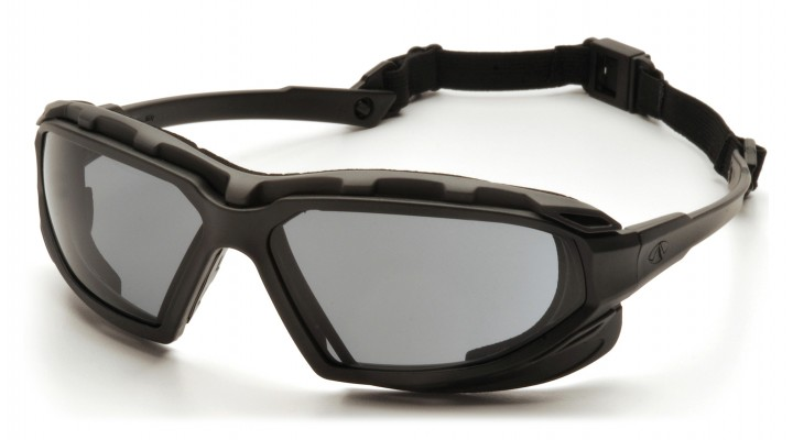 Gray H2X Anti-Fog Lens with Black/Gray Frame