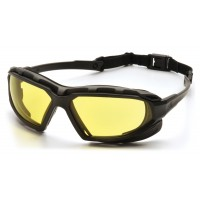 Amber H2X Anti-Fog Lens with Black/Gray Frame