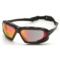 Sky Red Mirror Anti-Fog Lens with Black/Gray Frame