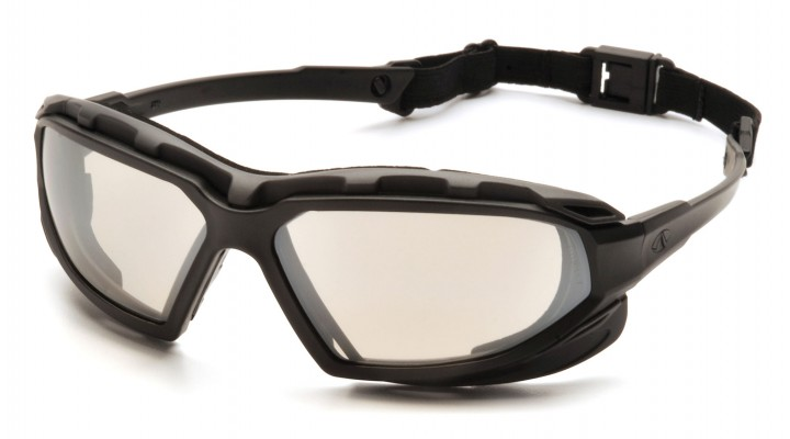 Indoor/Outdoor Mirror Anti-Fog Lens with Black/Gray Frame