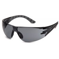 Gray H2X Anti-Fog Lens with Black and Gray Temples
