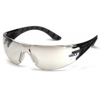 Indoor/Outdoor Mirror Lens with Black and Gray Temples