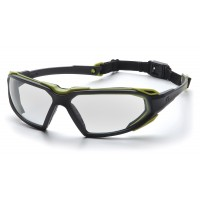 Clear H2X Anti-Fog Lens with Black/Lime Frame