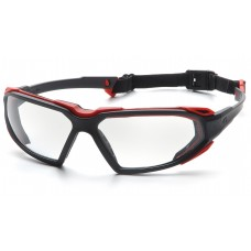 Clear H2X Anti-Fog Lens with Black/Red Frame
