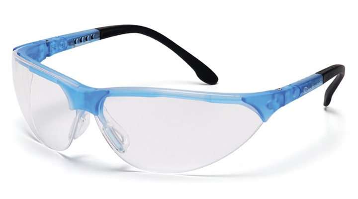 Clear Lens with Crystal Blue Frame