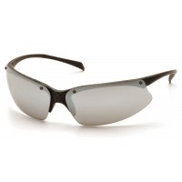 Silver Mirror Lens with Carbon Fiber Pattern Frame