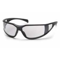 Clear Lens Anti-Fog Lens with Charcoal Gray Frame