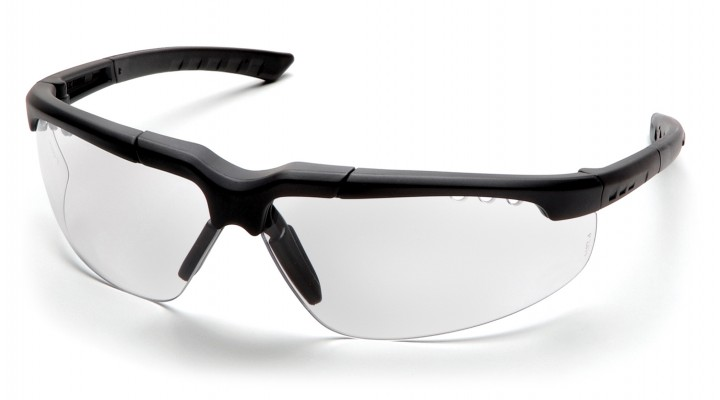 Clear Lens with Charcoal Frame