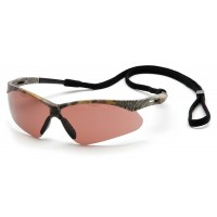 Sandstone Bronze Anti-Fog Lens with Camo Frame and Black Cord