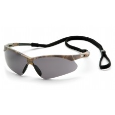 Gray Anti-Fog Lens with Camo Frame and Black Cord