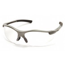 Clear Lens with Gray Frame