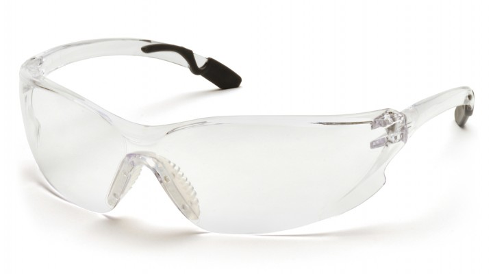 Clear H2X Anti-Fog Lens with Gray Temple Tips