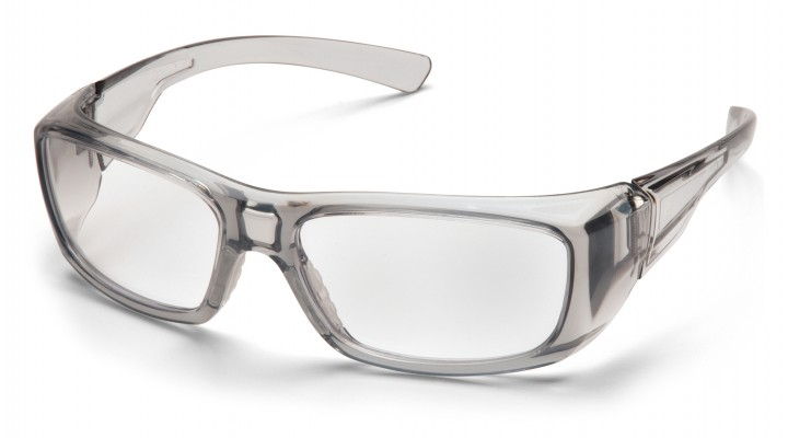 Clear +1.5 Lens with Gray Frame