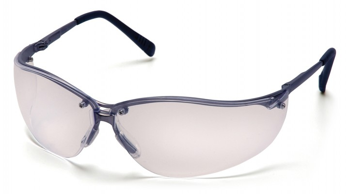 Clear Lens with Gun Metal Frame