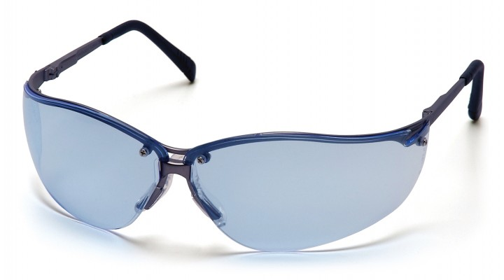 Infinity Blue Lens with Gun Metal Frame