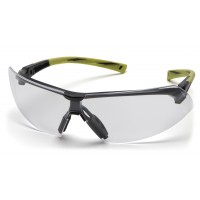 Clear H2X Anti-Fog Lens with Black/Hi-Vis Green Frame