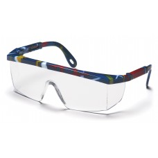 Clear Lens with Mixed Blue Frame