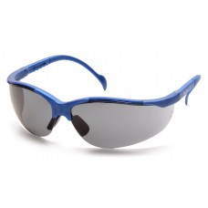Gray Lens with Metallic Blue Frame