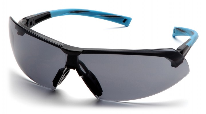 Gray Lens with Black/Blue Frame