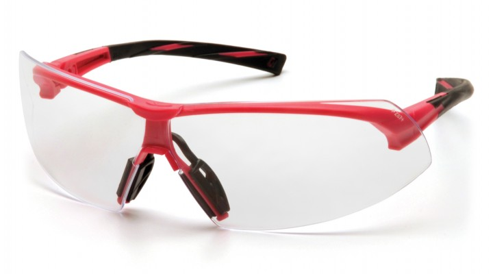 Clear Lens with Pink Frame