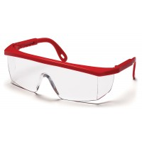 Clear Lens with Red Frame