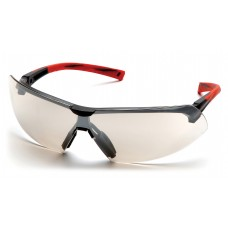 Indoor/Ourdoor Mirror Lens with Black/Red Frame