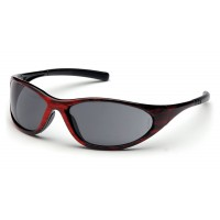 Gray Lens with Red Wood Frame