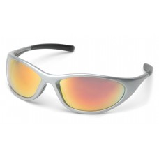 Ice Orange Mirror Lens with Silver Frame