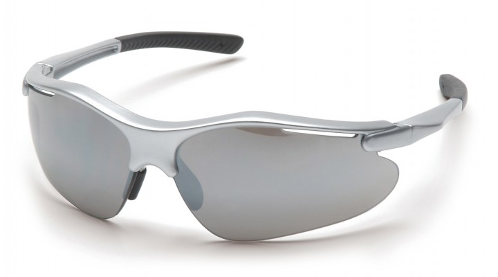 Silver Mirror Lens with Silver Frame