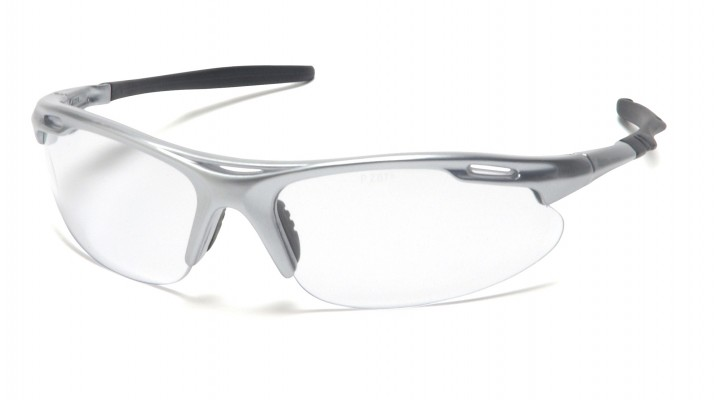 Clear Lens with Silver Frame