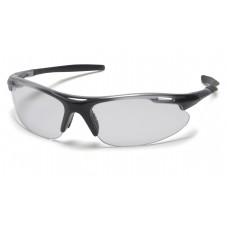 Clear Lens with Silver Black Frame