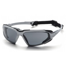 Gray H2X Anti-Fog Lens with Silver/Black Frame