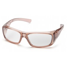 Clear +1.5 Lens with Translucent Caramel Frame