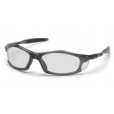 Clear Lens with Translucent Gray Frame