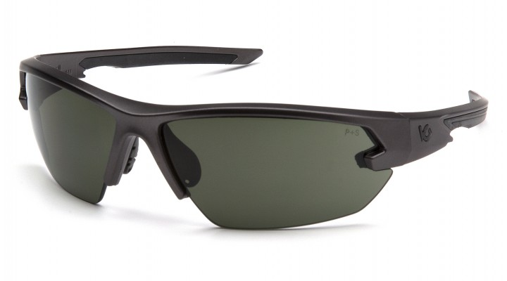Forest Gray Anti-Fog Lens with Gun Metal Frame