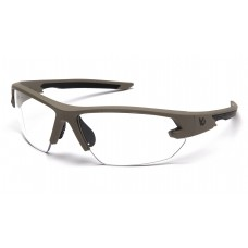 Clear Anti-Fog Lens with Tan Frame