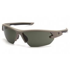 Forest Gray Anti-Fog Lens with Tan Frame