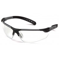 Clear Lens with Black and Gray Temples
