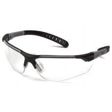 Clear H2MAX Anti-Fog Lens with Black and Gray Temples