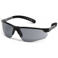 Gray H2MAX Anti-Fog Lens with Black and Gray Temples