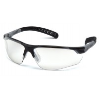 Indoor/Outdoor Lens with Black and Gray Temples