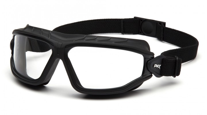 Clear H2MAX Anti-Fog Lens with Black Strap