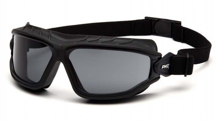 Gray H2MAX Anti-Fog Lens with Black Strap