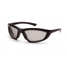 Black Wire Mesh Lens with Black Frame