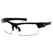 Clear Anti-Fog Lens with Black/Gray Frame
