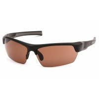 Bronze Anti-Fog Lens with Black/Gray Frame
