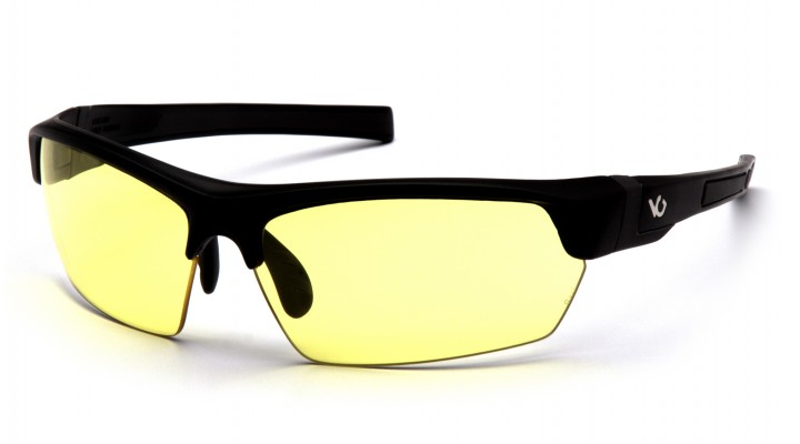 Yellow Anti-Fog Lens with Black/Gray Frame
