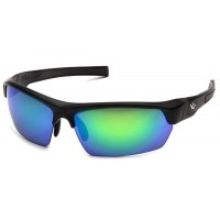 Green Mirror Polarized Lens with Black Frame