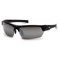 Silver Mirror Anti-Fog Lens with Black/Gray Frame