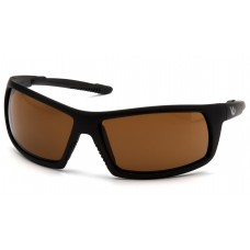 Bronze Anti-Fog Lens with Black Frame